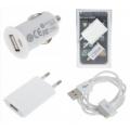 USB ladersæt, hvidt