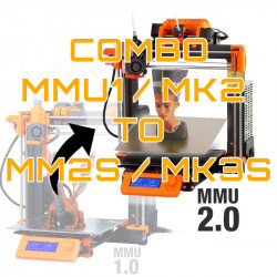 Prusa MMU1/MK2 to MK2.5S/MK3S combo - sort farve