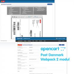 OpenCart Webpack2 modul version 2.0
