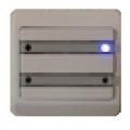 IHC Opus 66 svagstrømstryk med blåt lys