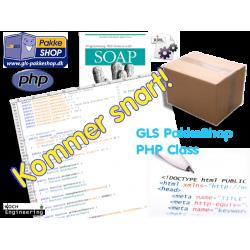 GLS PakkeShop PHP class version 1.0